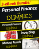 Personal Finance For Dummies Three eBook Bundle: Personal Finance For Dummies, Investing For Dummies, Mutual Funds For Dummies (1118596358) cover image