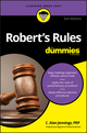 Robert's Rules For Dummies, 3rd Edition (1119241758) cover image