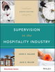 Supervision in the Hospitality Industry, 8th Edition Binder Ready Version (1119251958) cover image