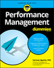 Performance Management For Dummies (1119557658) cover image