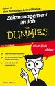 Zeitmanagement im Job für Dummies Das Pocketbuch (3527637958) cover image