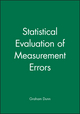 Statistical Evaluation of Measurement Errors (0470682159) cover image