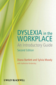 Dyslexia in the Workplace: An Introductory Guide, 2nd Edition (0470683759) cover image