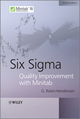 Six Sigma Quality Improvement with Minitab, 2nd Edition (0470741759) cover image
