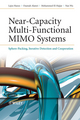 Near-Capacity Multi-Functional MIMO Systems: Sphere-Packing, Iterative Detection and Cooperation (0470779659) cover image