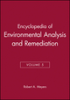 Encyclopedia of Environmental Analysis and Remediation, Volume 5 (0471166359) cover image