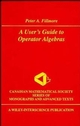 A User's Guide to Operator Algebras (0471311359) cover image