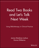 Read Two Books and Let's Talk Next Week: Using Bibliotherapy in Clinical Practice (0471375659) cover image