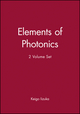 Elements of Photonics, 2 Volume Set (0471411159) cover image