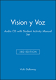 Vision y Voz, 3e Audio CD with Student Activity Manual Set (0471423459) cover image