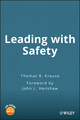 Leading with Safety (0471494259) cover image