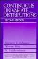 Continuous Univariate Distributions, Volume 1, 2nd Edition (0471584959) cover image