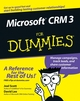Microsoft CRM 3 For Dummies (0471799459) cover image
