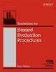 Guidelines for Hazard Evaluation Procedures, 3rd Edition