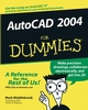AutoCAD 2004 For Dummies (0764540459) cover image