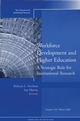 Workforce Development and Higher Education: A Strategic Role for Institutional Research: New Directions for Institutional Research, Number 128 (0787983659) cover image