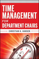 Time Management for Department Chairs (1118087259) cover image