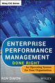 Enterprise Performance Management Done Right: An Operating System for Your Organization (1118370759) cover image