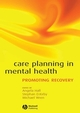 Care Planning in Mental Health: Promoting Recovery (1119096359) cover image