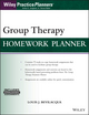Group Therapy Homework Planner with Download ePub (1119230659) cover image