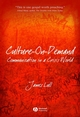 Culture-on-Demand: Communication in a Crisis World (1405160659) cover image