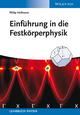 Einführung in die Festkörperphysik (3527674659) cover image