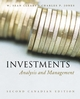 Investments: Analysis and Management, 2nd Canadian Edition (EHEP001059) cover image