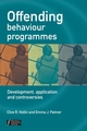 Offending Behaviour Programmes: Development, Application and Controversies (047002335X) cover image