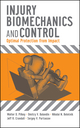 Injury Biomechanics and Control: Optimal Protection from Impact (047010015X) cover image