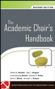 The Academic Chair's Handbook, 2nd Edition (047019765X) cover image