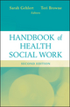 Handbook of Health Social Work, 2nd Edition (047064365X) cover image