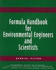 Formula Handbook for Environmental Engineers and Scientists (047113905X) cover image