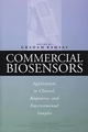 Commercial Biosensors: Applications to Clinical, Bioprocess, and Environmental Samples (047158505X) cover image