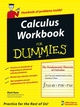 Calculus Workbook For Dummies (047176275X) cover image