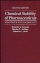 Chemical Stability of Pharmaceuticals: A Handbook for Pharmacists, 2nd Edition (047187955X) cover image