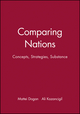 Comparing Nations: Concepts, Strategies, Substance (063118645X) cover image