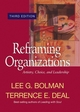 Reframing Organizations: Artistry, Choice, and Leadership, 3rd Edition (078797255X) cover image