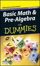 Basic Math and Pre-Algebra For Dummies, Pocket Edition (111836905X) cover image