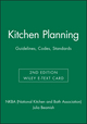 Kitchen Planning: Guidelines, Codes, Standards, 2e Wiley E-Text Card (111897185X) cover image