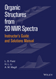 Instructor's Guide and Solutions Manual to Organic Structures from 2D NMR Spectra (111902725X) cover image