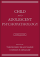 Child and Adolescent Psychopathology, 3rd Edition (111916995X) cover image
