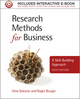 Research Methods for Business: A Skill-Building Approach, 6th Edition (111994225X) cover image