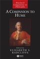 A Companion to Hume (140511455X) cover image