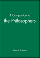 A Companion to the Philosophers (155786845X) cover image