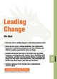 Leading Change: Leading 08.06 (184112205X) cover image