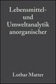 Lebensmittel- und Umweltanalytik anorganischer Spurenbestandteile (352762595X) cover image