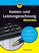 Kosten- und Leistungsrechnung für Dummies, 2. Auflage (352781065X) cover image