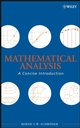 Mathematical Analysis: A Concise Introduction (0470107960) cover image