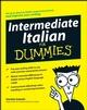 Intermediate Italian For Dummies (0470411260) cover image