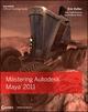 Mastering Autodesk Maya 2011 (0470925760) cover image